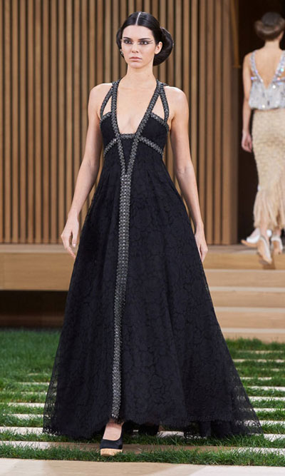 Chanel Haute Couture 2016 Spring Summer Runway Kendall Jenner