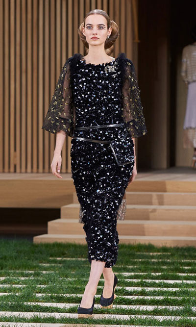 Chanel Haute Couture 2016 Spring Summer Runway Look 12