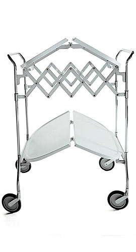 Gastone Folding Bar Cart
