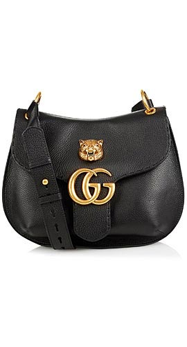 Marmont GG leather shoulder bag