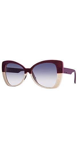 I-Plastik Velvet Butterfly Sunglasses