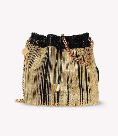 Stella McCartney 2016 Resort Colleciton Fringe Bucket Bag