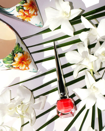 LOVIKA | Christian Louboutin Hawaii Kawaii nail colors