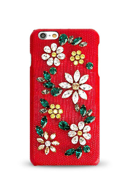 Dolce & Gabbana daisy crystal embellished iPhone 6 case