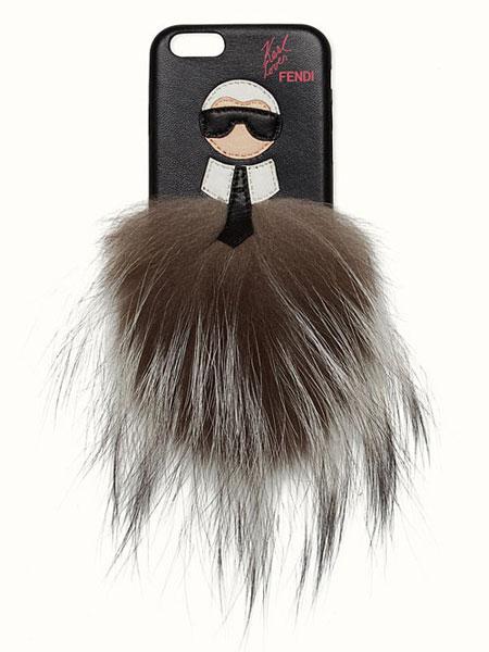 Fendi Karlito Fur iPhone Case