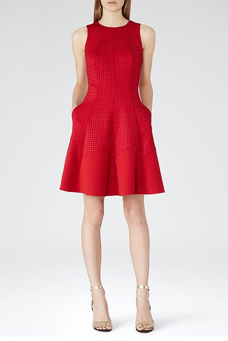 Valentine Day Red DressReiss Pinot Dress