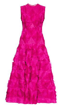 Roksanda Belmore silk-organza A-line gown