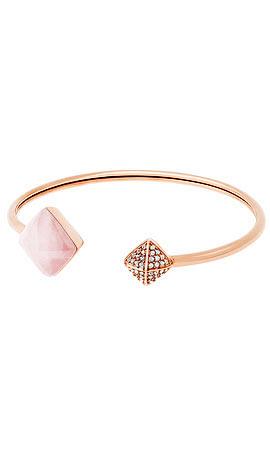 Michael Kors Pyramid Open Cuff Bracelet