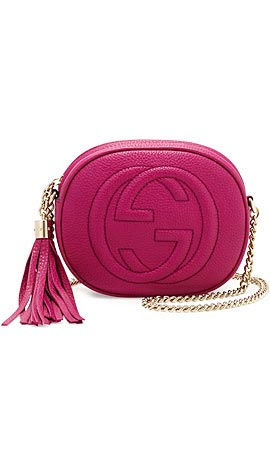 Gucci Soho Leather Mini Shoulder Bag