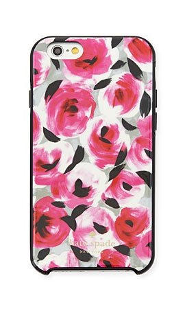 kate spade new york rosebud iPhone 6/6s case