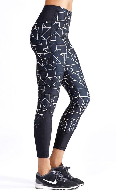Vie Active Taryn High Waist Workout Leggings