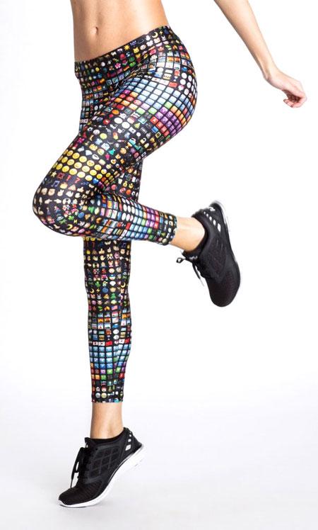 Zara Terez Emoji Printed Leggings