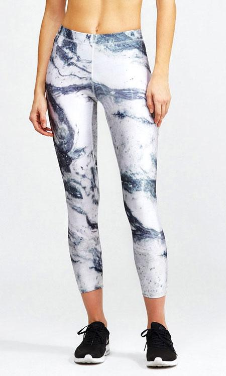 Zara Terez Marble Pattern Sport Leggings