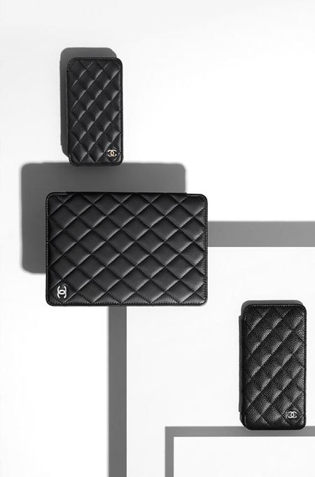 Chanel Tech Accessories iPhone iPad cases and covers