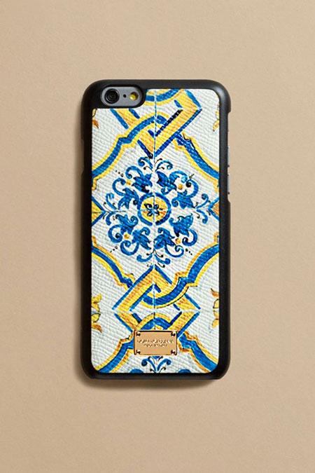 Dolce & Gabbana Sicilian Maiolica tiles iPhone Case