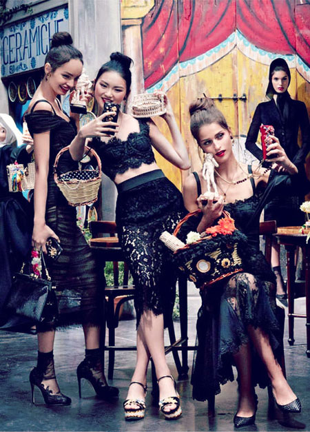 dolce and gabbana ss16 ad campaign iphone cases