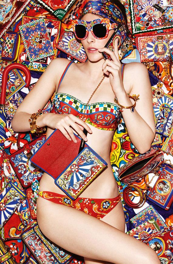 Dolce & Gabbana Carretto pattern iphone case