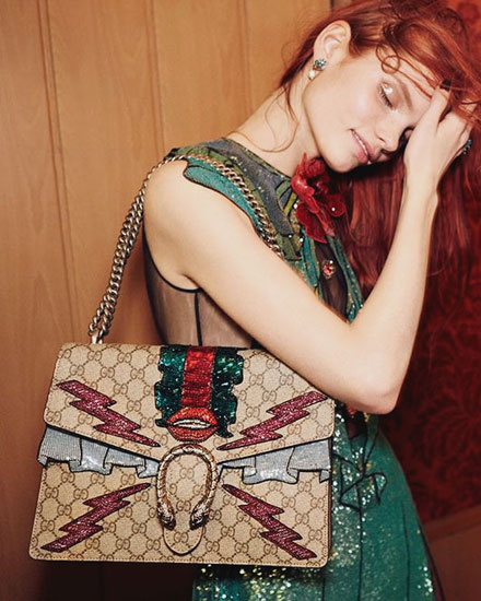 Another Reason We Are Obsessed with Gucci Right Now
