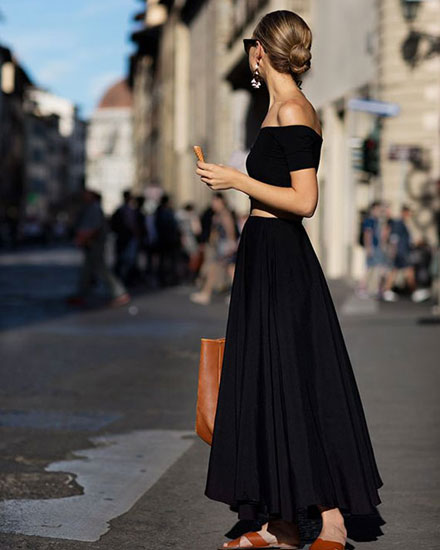 55 Stylish Ways to Wear Off-The-Shoulder Tops