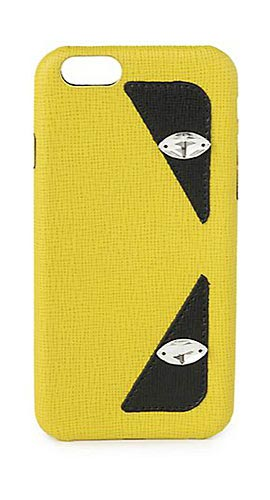 Fendi Monster Saffiano Leather iPhone 6 Case