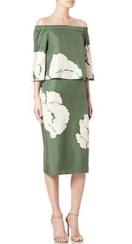 Tibi Amara Printed Dress