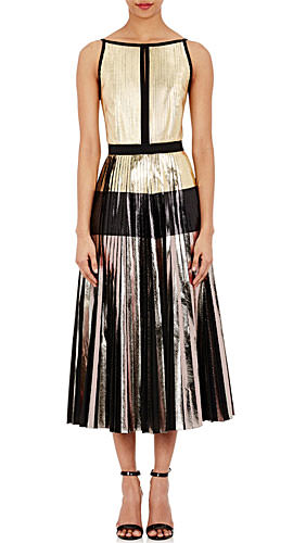 Proenza Schouler Pleated Cloqué Dress