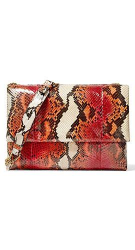 Lanvin Sugar medium python shoulder bag