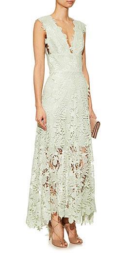 Maria Lucia Hohan Caspia guipure-lace dress