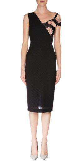 Roland Mouret Asymmetric One-Shoulder Sheath Dress