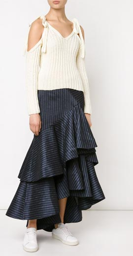 ROSIE ASSOULIN off-the-shoulder sweater