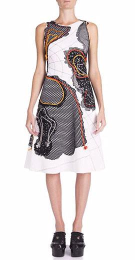 Bottega Veneta Embellished Stretch-Cotton Dress