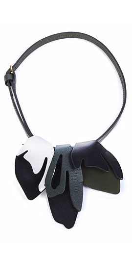 Marni Leather Collar Necklace