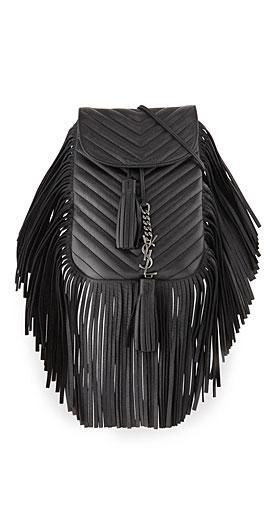 Saint Laurent Anita Small Matelasse Crossbody Bag
