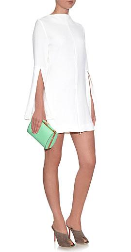 ELLERY Mars zip-front dress