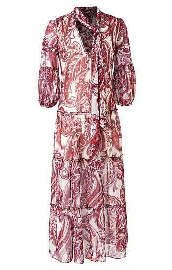 Olivia Palermo x Nordstrom Paisely Maxi Dress