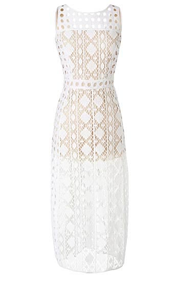 Olivia Palermo x Nordstrom Lace Dress
