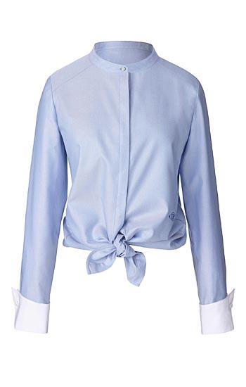 Olivia Palermo x Nordstrom Cotton Oxford Shirt