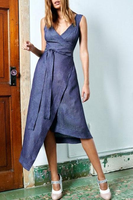 Alexis Marikka Wrap Dress