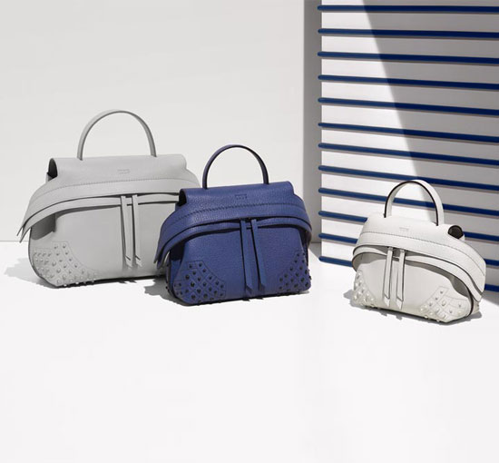 Tods Wave Bags in Different Sizes