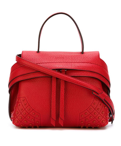 Tods Red Wave Bag