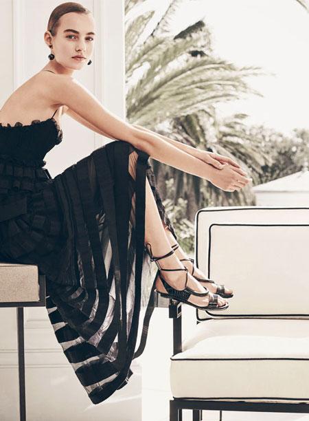 Ferragamo Lace-up Sandal