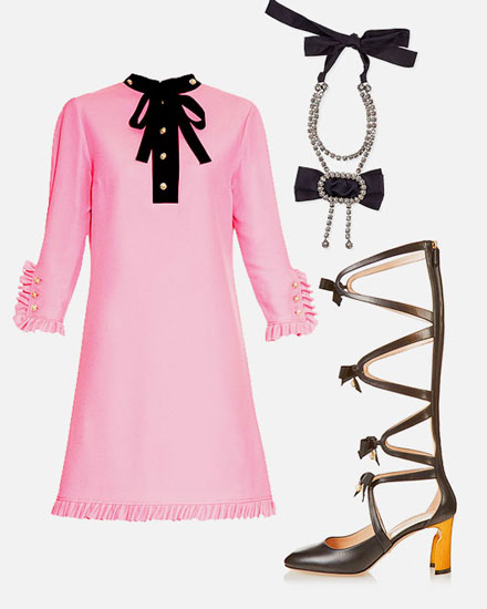 LOVIKA CLOSET   Black bow fashion trends & styles