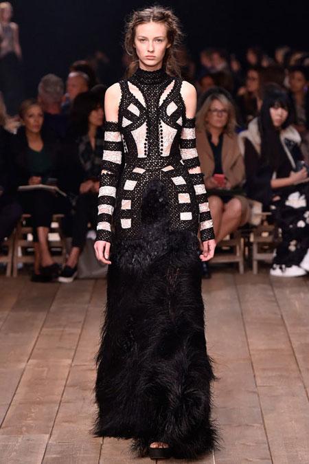 Alexander McQueen Gown SS16