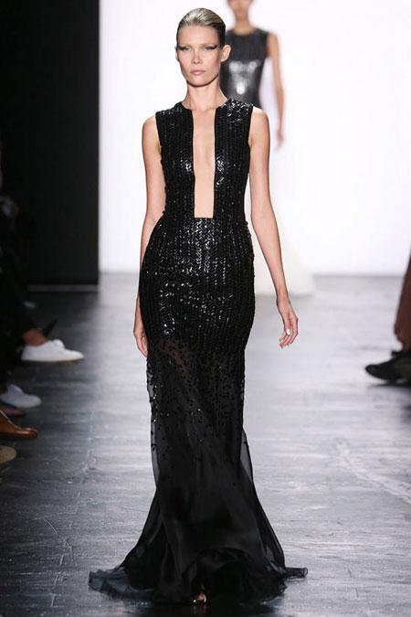 Carmen Marc Valvo Gown SS16