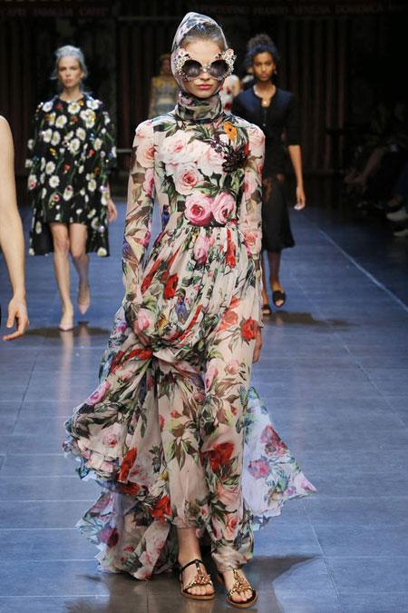 Dolce & Gabbana Gown SS16