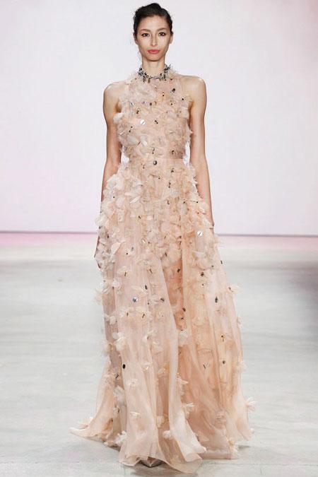 Lela Rose Gown SS16