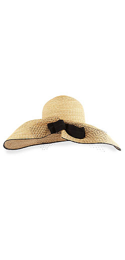 Inverni Iris Straw Hat w/ Netting