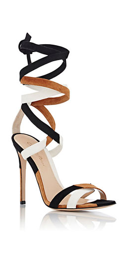 GIANVITO ROSSI Crosby Ankle-Tie Sandals