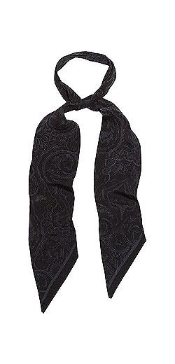ROCKINS Printed silk crepe de chine scarf