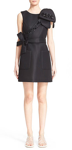 SIMONE ROCHA embellished scuba dress